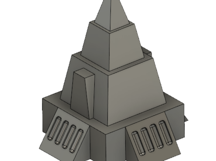 2mm / 3mm Simple Temple 3d printed