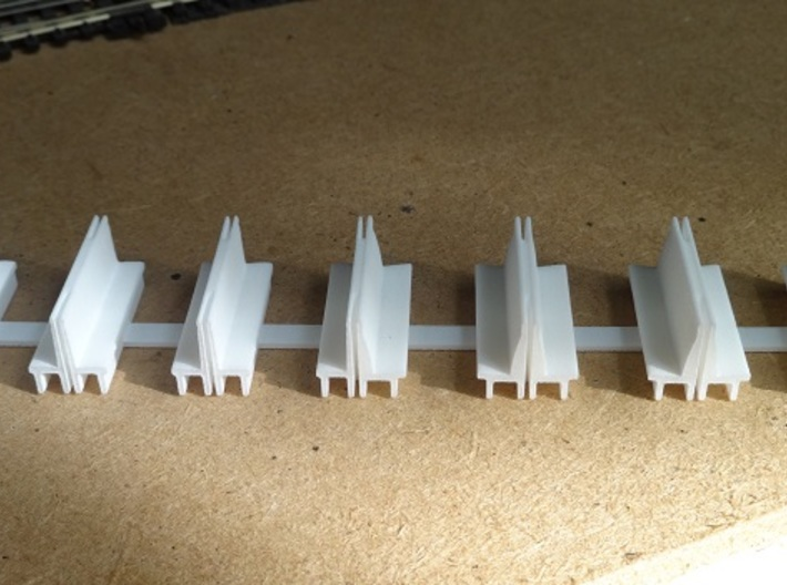 Composite coach body seats. (412 + 368) 3d printed