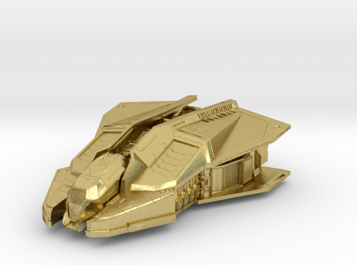 Vulture: Elite Dangerous 3d printed