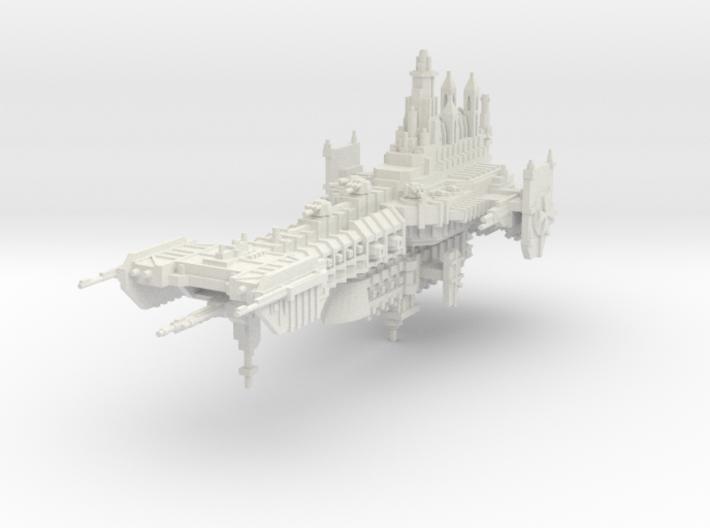 Barcaza de renombre Cruzado Eterno 3d printed