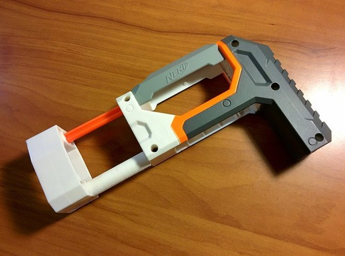 ECS-10 Shoulder Stock Hardening Brace 3d printed