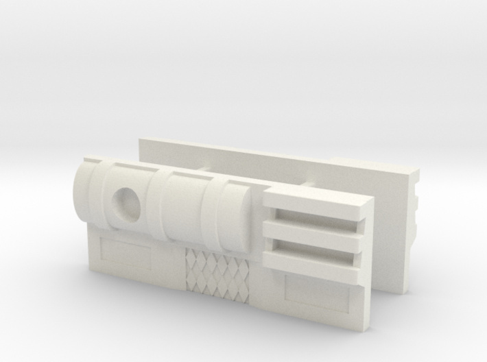 TF WFC Siege - Ultra Magnus Thigh Stabilizers 3d printed