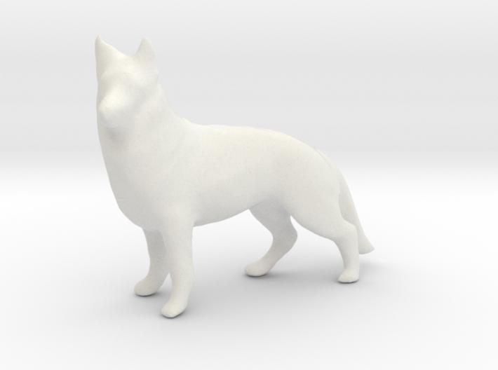 Printle Thing German Shepherd - 1/24 3d printed