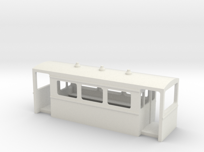 N6.5 carriage body to fit Rokuhan chassis 3d printed