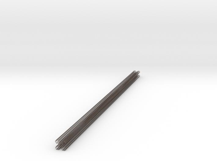 hexacore_deck_post_4cmX110cm_hexagrid- 3d printed