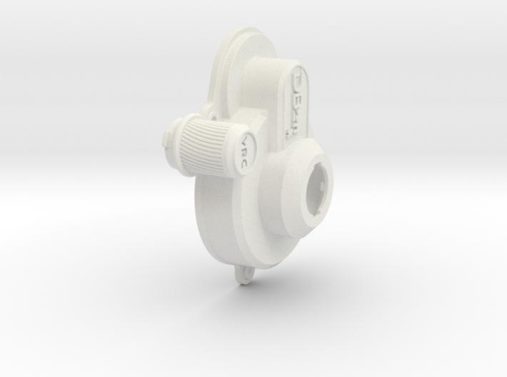 VRC Collin DB211x Gear Box Cover & Plug Bundle 3d printed