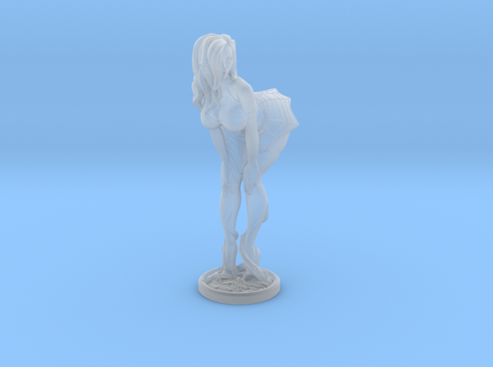 Halloween pinup no pumpkin 40mm 3d printed