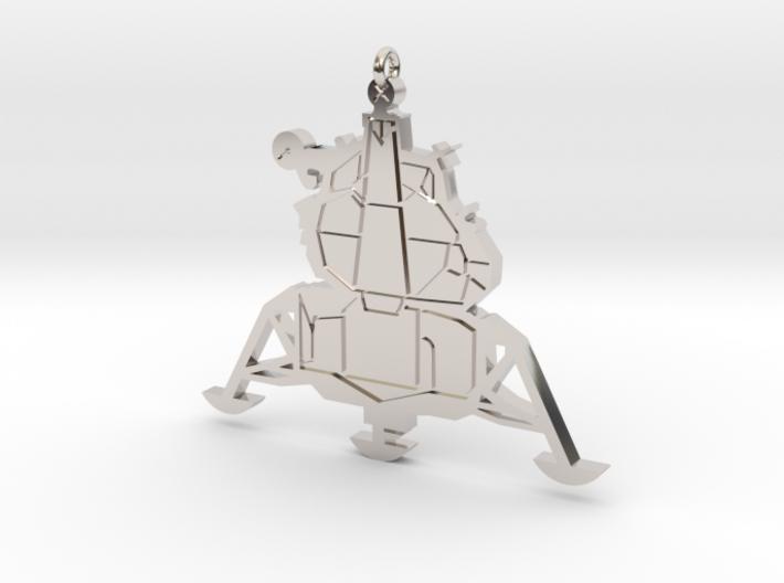 Lunar Lander Pendant 3d printed