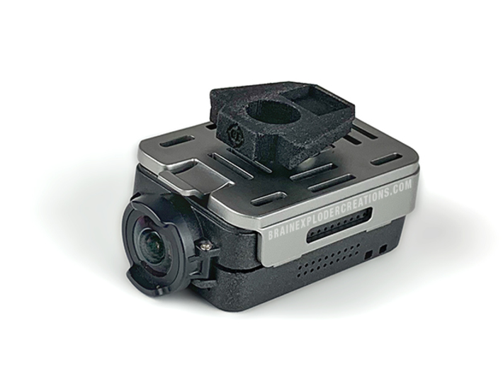 """NVG 1/4"""" Camera Screw Adapter (Wilcox Dovetail) 3d printed"""