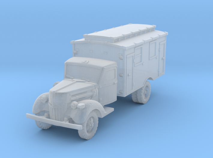 Ford V3000 Radio early 1/200 3d printed