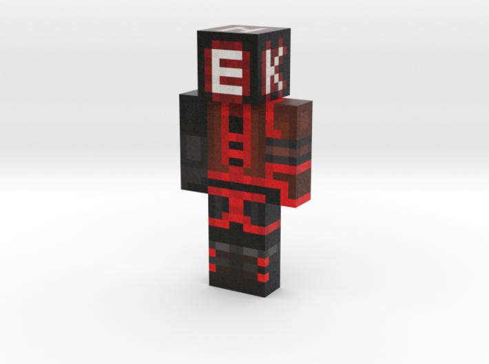 Ekuzen | Minecraft toy 3d printed