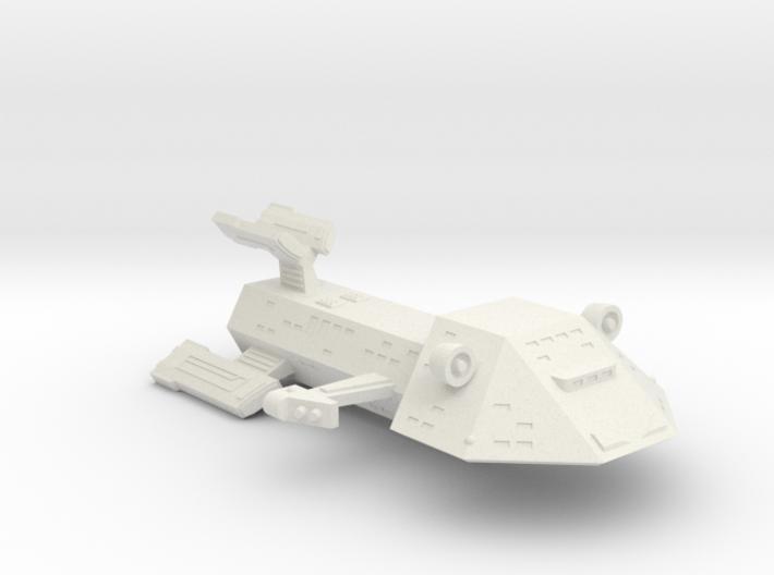 3788 Scale Kzinti Heavy Medium Cruiser SRZ 3d printed