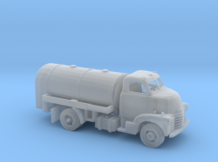 N Scale Old Tanker Truck 3d printed This is a render not a picture