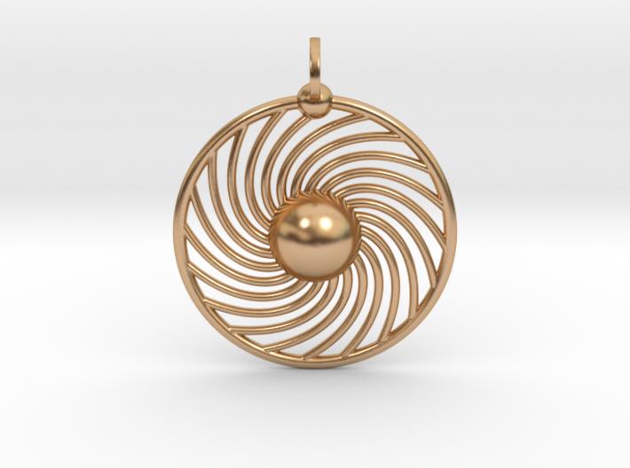 Hydrogen Atom Pendant 3d printed