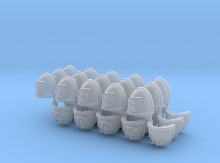Commission 81 4-7 Mk7/8 Shoulder pads 3d printed