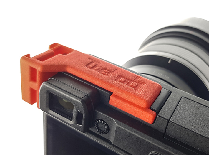 Vlogging Mic Mount - Sony A6400, 6300, 6000, 6500 3d printed
