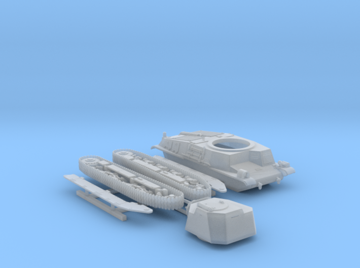 1/144 SARL 42 Tank (FCM 3 Man Turret 47mm SA37 Gun 3d printed 1/144 SARL 42 Tank (FCM 3 Man Turret 47mm SA37 Gun