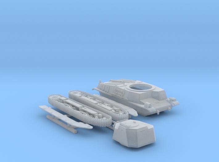 1/160 SARL 42 Tank FCM 3 Man Turret 47mm SA37 Gun 3d printed 1/160 SARL 42 Tank (FCM 3 Man Turret 47mm SA37 Gun)