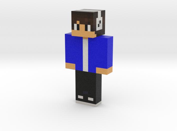 SWAT_MC | Minecraft toy 3d printed