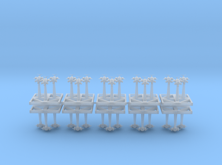 Assault Gun crafts - Concept B 3d printed