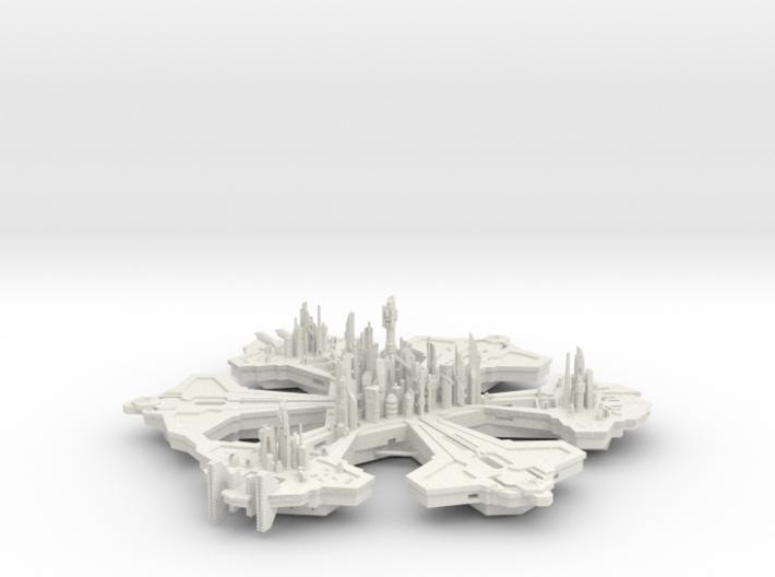 Atlantis 20 Hollow 3d printed