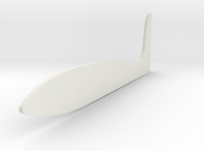 Tamiya Blazing Blazer Large Right Side Wing f/Roof 3d printed