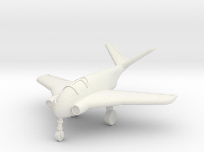 (1:144) Messerschmitt Me P1011 (1994) (wheels down 3d printed