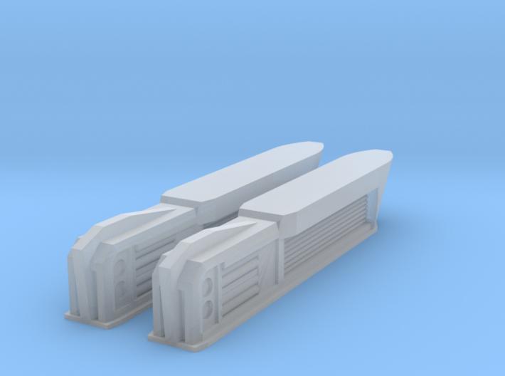 1000 PEA NiteFlyer Nacelles 3d printed