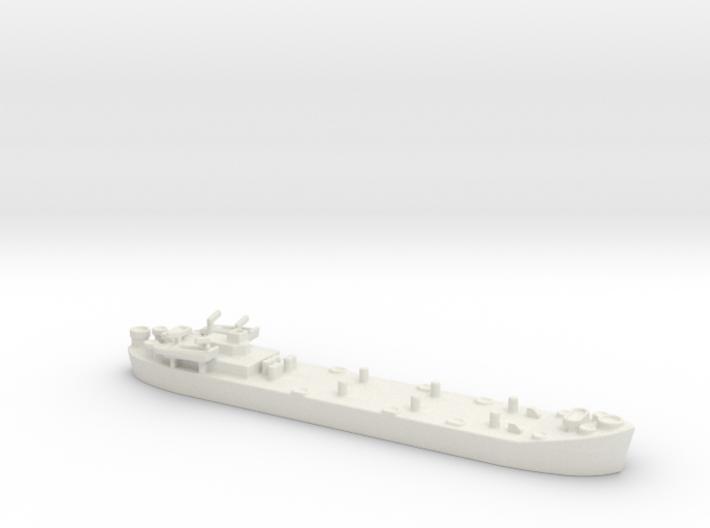 Landing Ship tank MK2 LST 1/600 3d printed