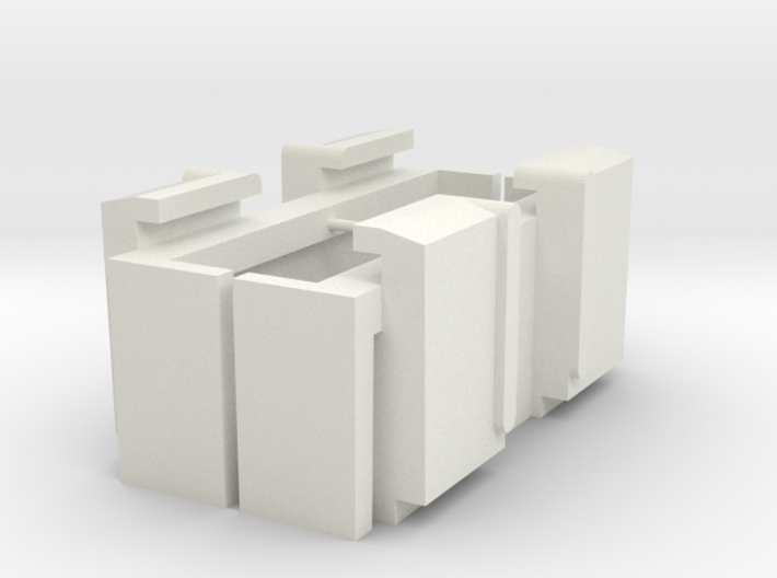 Cadillac -58 -59 Power Window Switch Case 3d printed