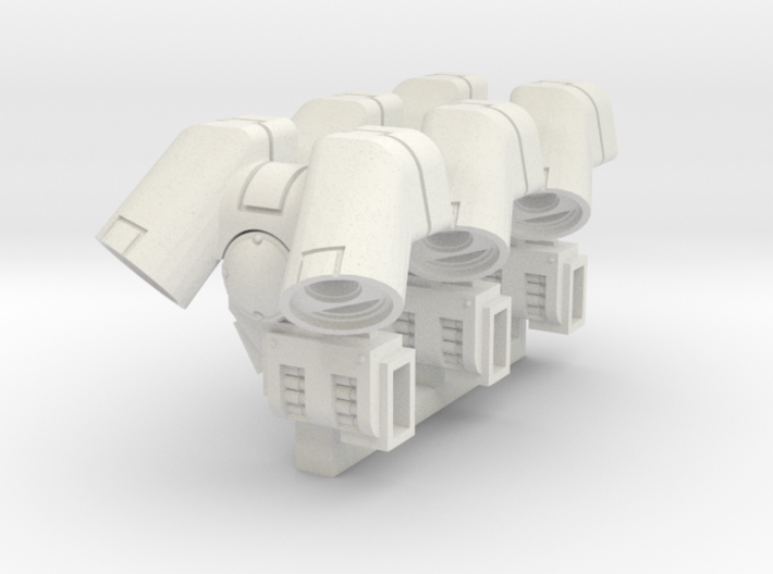 Suppressor Jump Pack (Multiplex3) 3d printed