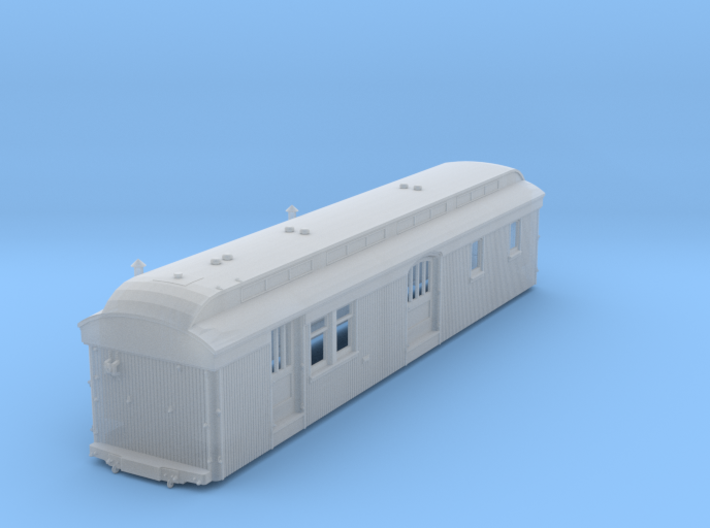 C&S Baggage/RPO Cars 10, 11, 12 BODY ONLY 3d printed