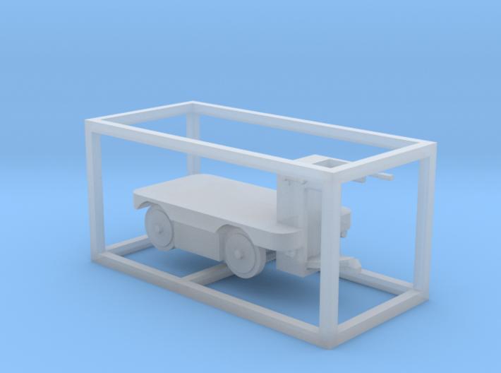 E-Karren Flachwagen - 1:120 TT 3d printed