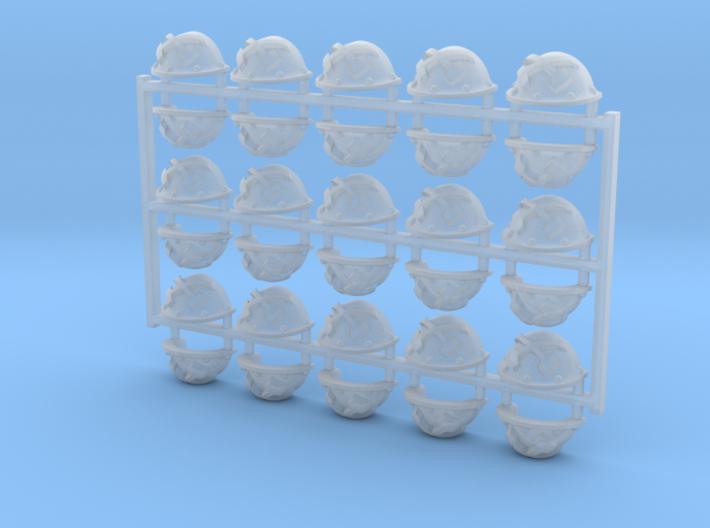 30x Clan Earthbreaker - Argonaut Shoulder Pads 3d printed