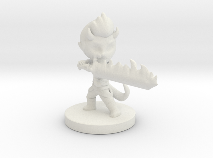 Ezekiel of Purifying Flames 3d printed