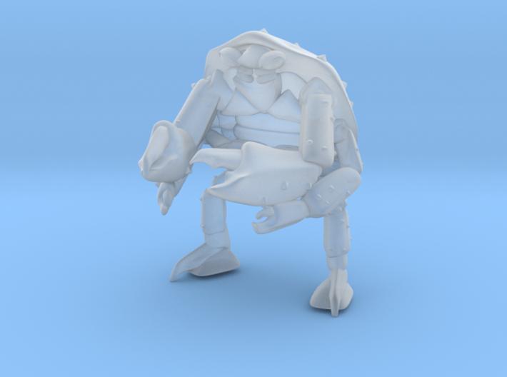 mutant_crab_man1 3d printed
