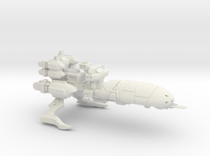 Torture Class Cruiser - Concept A 3d printed