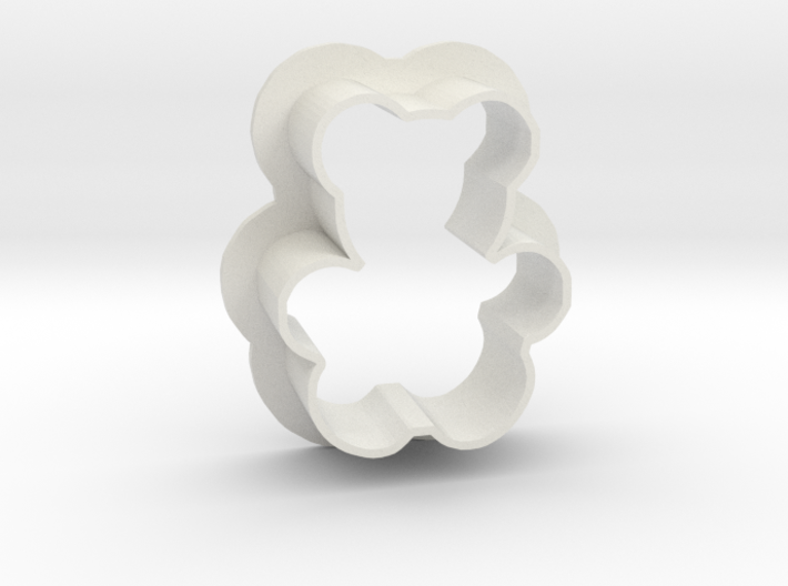 Teddy cookie cutter 3d printed