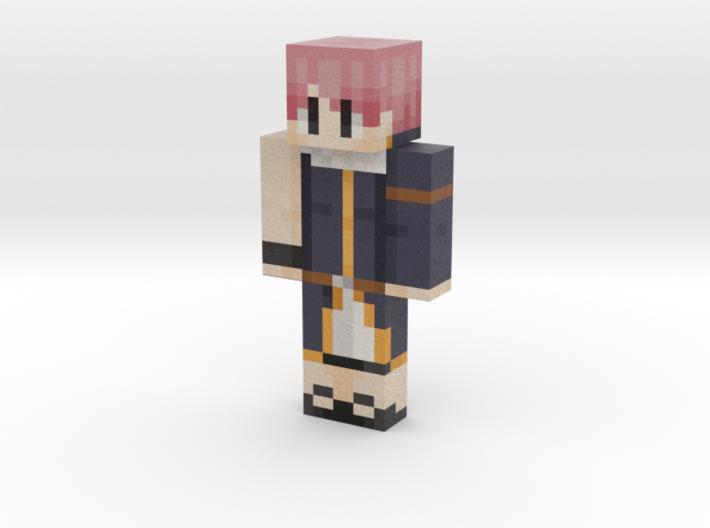 natsu | Minecraft toy 3d printed