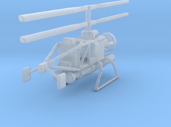 1/144 Scale Gyrodyne QH-50C DASH 3d printed