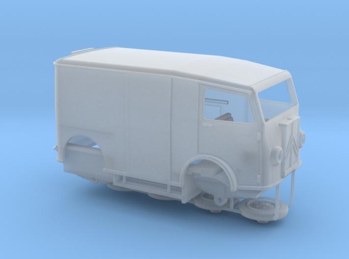 1:87 Citroen TUB 1939 3d printed