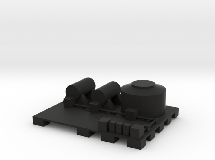 Docks fuel depot 3d printed