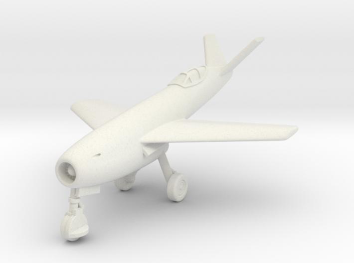(1:144) Messerschmitt Me P.1106 (Gear down) 3d printed