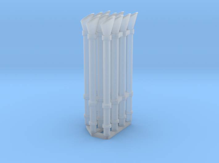 Voice pipe set 1/48 3d printed