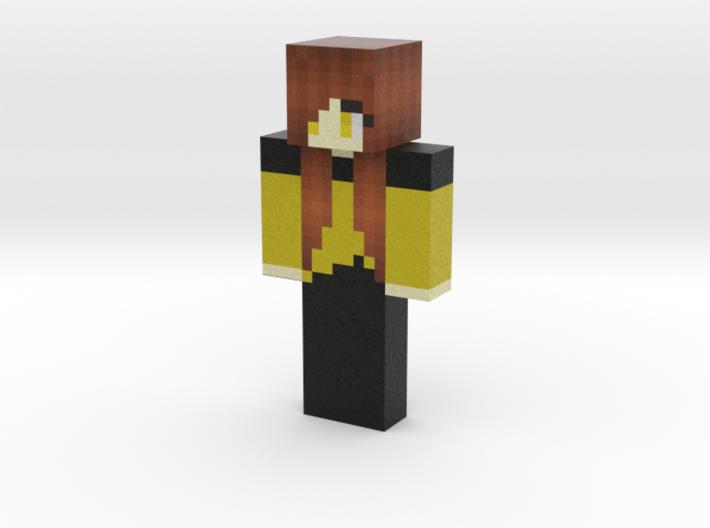 althegirl   Minecraft toy 3d printed