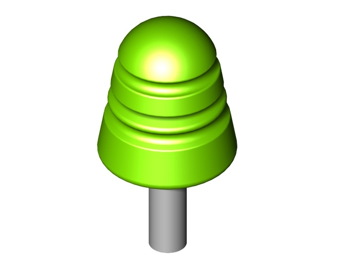 Telephone/Telegraph Insulators Type B 1:20.3 scale 3d printed