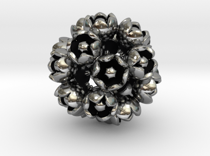 ROSE DODECAHEDRON 3d printed