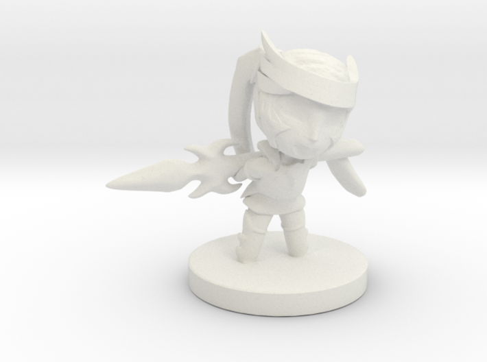 Deadly Smile Ellie 3d printed