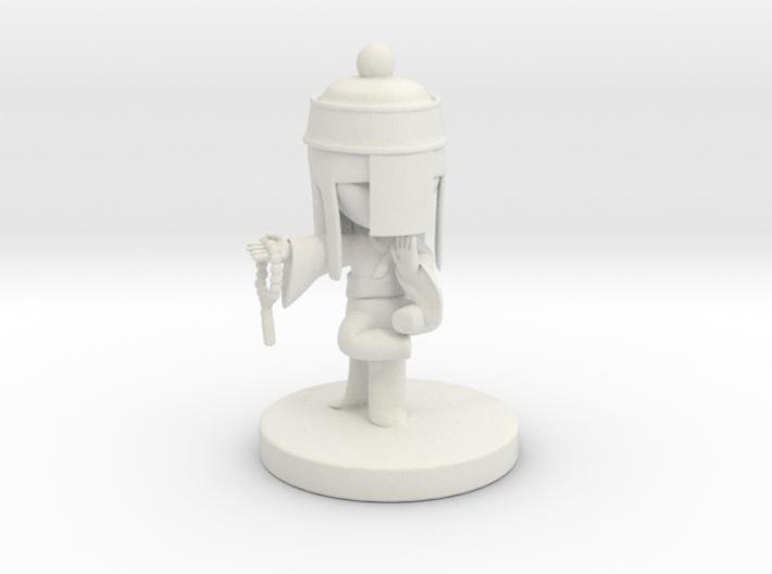 Balanced Monk Liu 3d printed