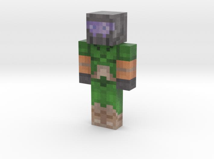 Xisuma | Minecraft toy 3d printed